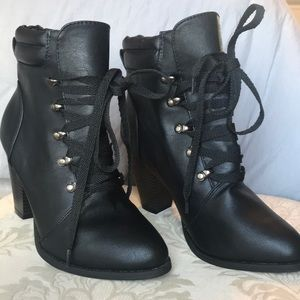 Forever 21 over ankle boot